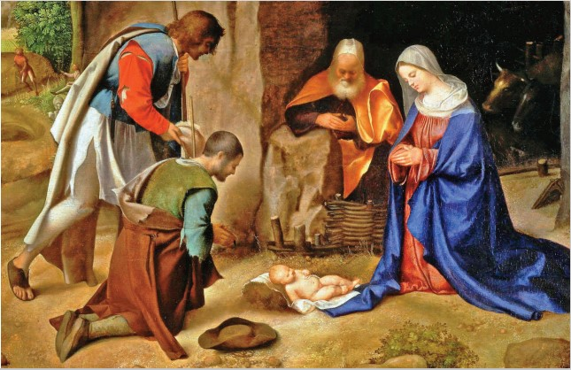 "Mons. Marcianò: ""un Bambino che ci cura"""