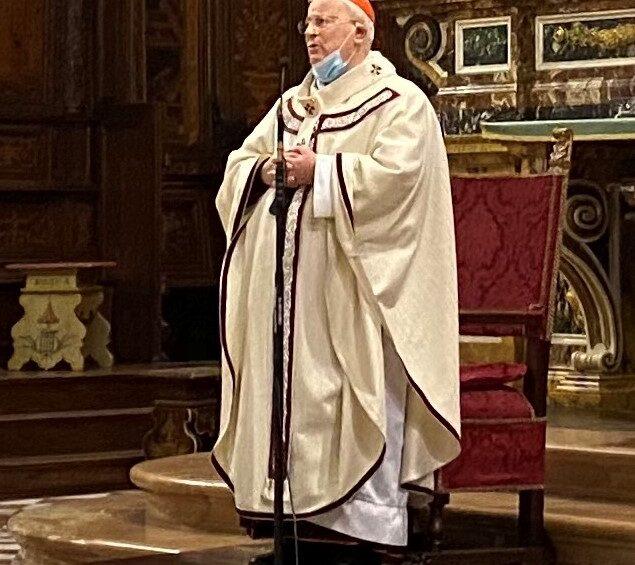 Il card. Bassetti è ritornato a celebrare l'Eucaristia in cattedrale a Natale