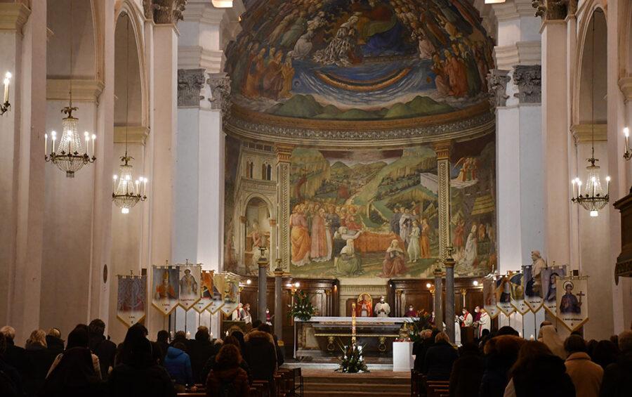 Mons. Boccardo: la presenza di san Ponziano ricorda continuamente la chiamata ricevuta nel Battesimo