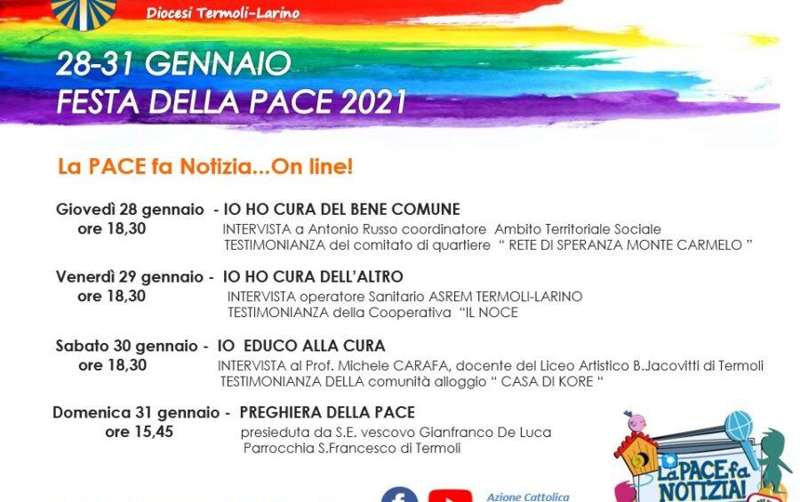 Giornata della pace 2021: tutte le iniziative