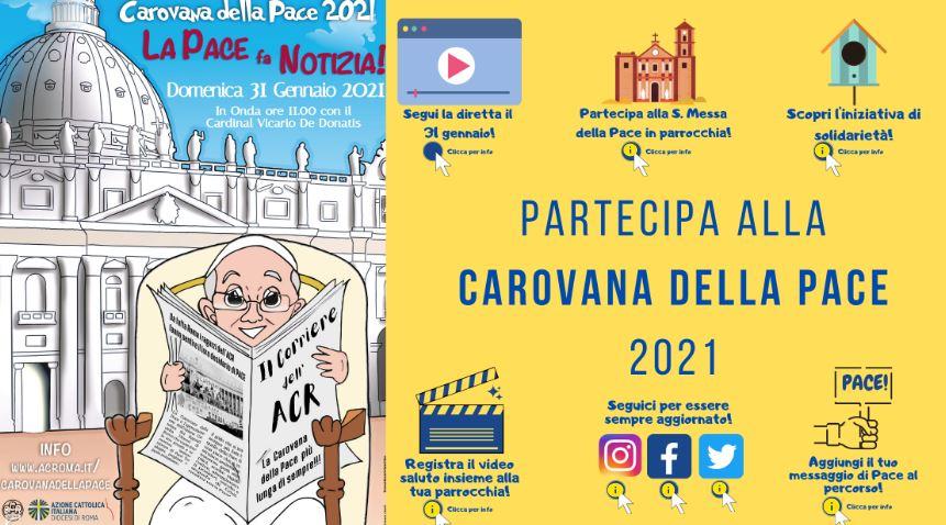 Azione Cattolica: la Carovana della Pace per via telematica