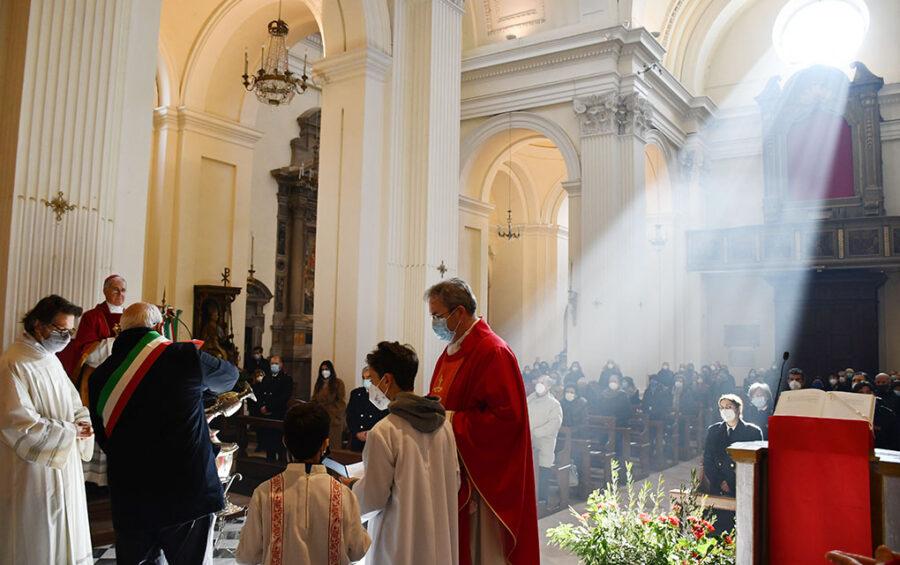 """Trevi, festa di S. Emiliano. Mons. Boccardo: """"Ci è chiesto un supplemento di impegno"""""""