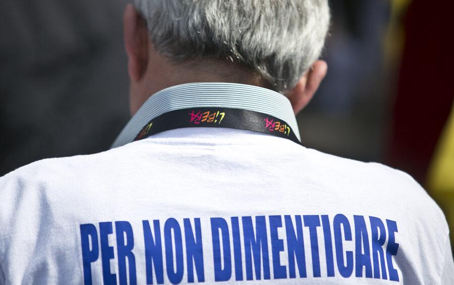 Latina, 22 Marzo 2014.  La manifestazione di Libera contro tutte le mafie con Don Luigi Ciotti.