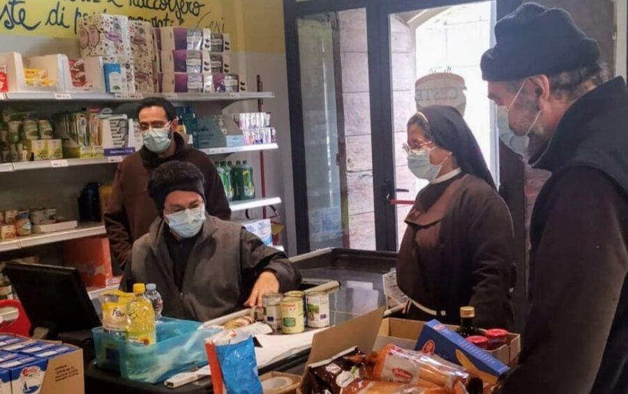 Emergenza sociale Covid: Caritas in prima linea