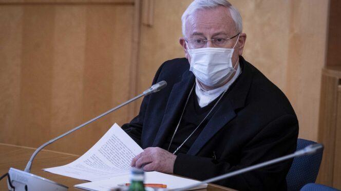 Roma 26 gennaio 2021. Conferenza Episcopale Italiana Consiglio permanente della CEI. Introduzione del Cardinale Presidente Gualtiero Bassetti.