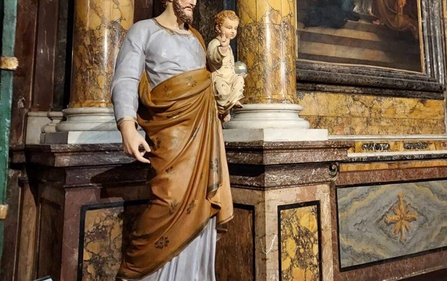 """Nell'""""anno speciale"""" dedicato a San Giuseppe, l'esposizionedi un'antica statua del Santo in cattedrale"""