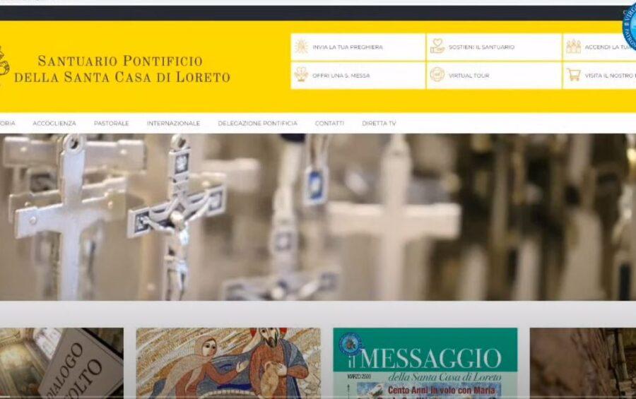 Un nuovo sito per il Santuario: la presentazione