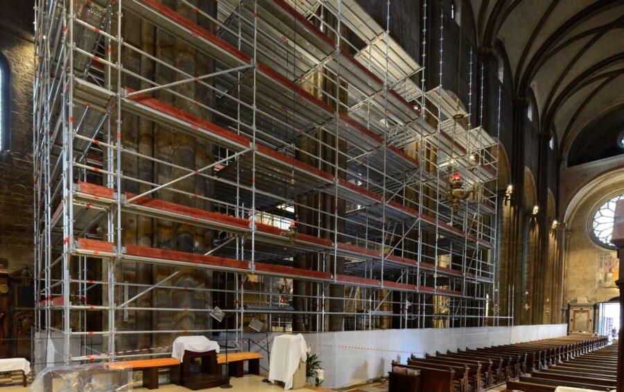 Nuova fase del restauro: la Cattedrale chiude dal 17 maggio al 26 giugno