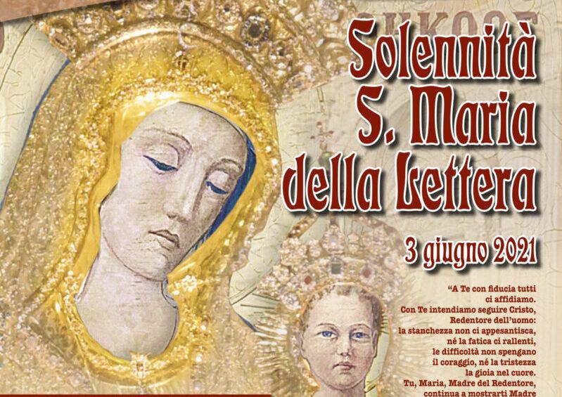 Festa di Santa Maria della Lettera: tutte le celebrazioni