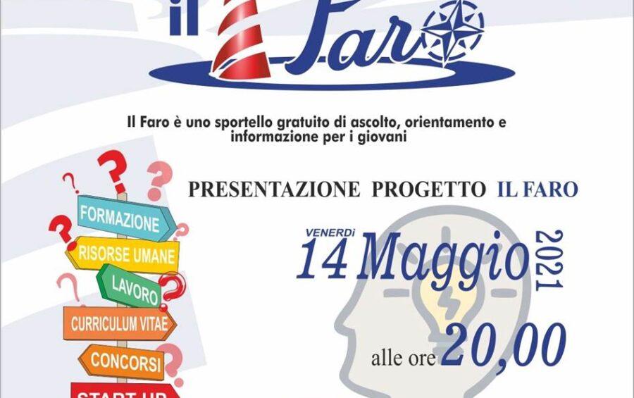 """Nasce """"Il Faro"""", sportello di ascolto, orientamento e informazione per i giovani"""